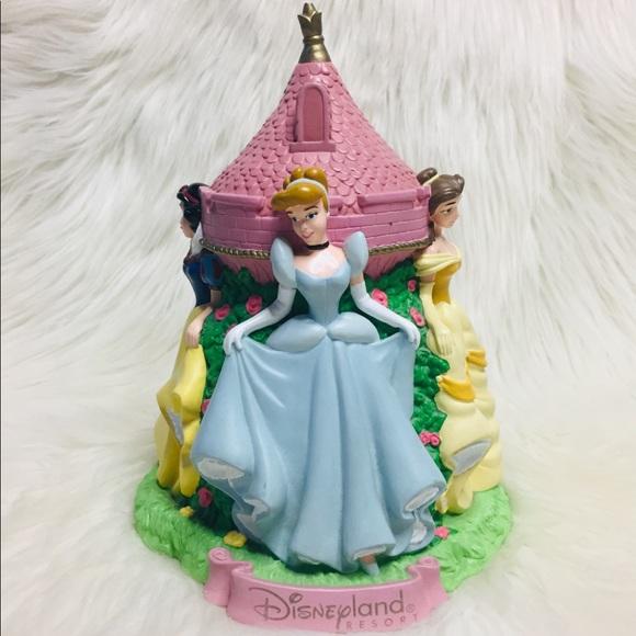 Walt Disney World Princesses Castle Piggy Bank